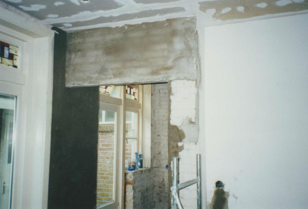 Verbouwingen-muurdoorbraak-klaar