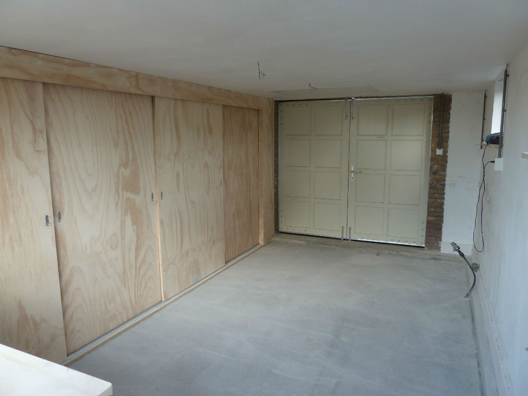 Verbouwingen-schuur-maatwerk kast