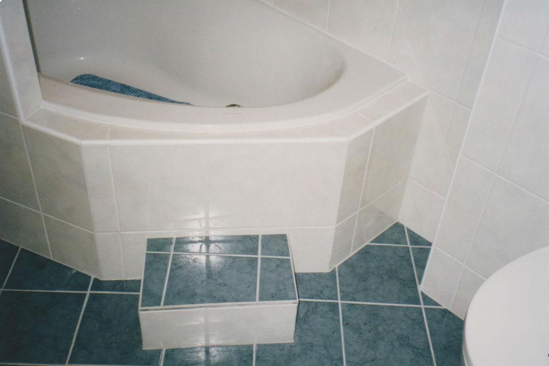 Badkamer-opstapje