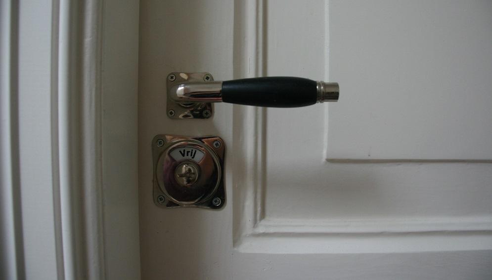 Badkamer-deur